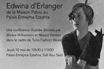 إدوينا ديرلنجي .... من بيت جان  باتو  للإزياء، الى قصر البارون ديرلنجي
